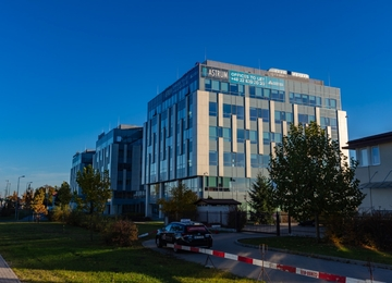 Astrum Business Park with a certificate