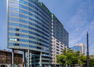 Atrium One was awarded LEED precertification at platinum level
