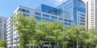 Office Atrium Garden - Office space renting - picture of facade
