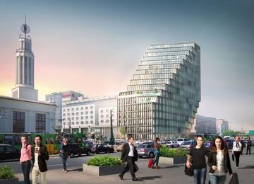 New office block in Poznań