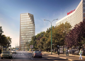 Bałtyk office building about to open