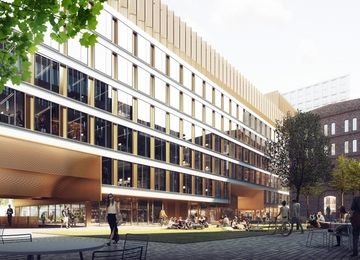 Construction works on next Browary Warszawskie office building begin