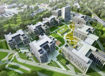 LEED Platinum for Business Garden Wrocław