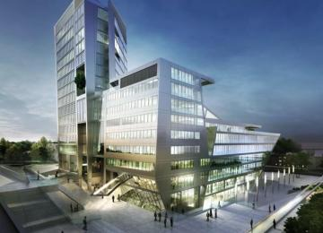 The first A-class office is swiftly ascending in Olsztyn