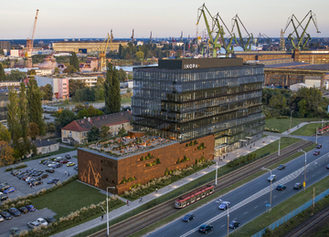 New green office building in Gdańsk