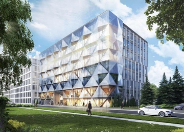 Diamentum Office facade revealed