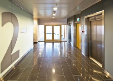 Enterprise Park received its occupancy permit