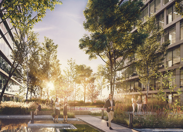 Building permit for Global Office Park