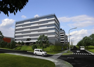 GPP Business Park IV with the BREEAM certificate