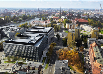Green Day office building opened
