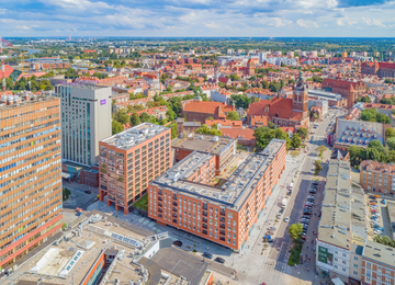 Office building Heweliusza 18 in Gdansk with a BREEAM certificate