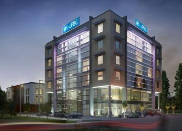 Hanski Office Center back under construction