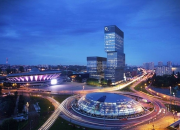 KTW office buildings will appear near Spodek in Katowice