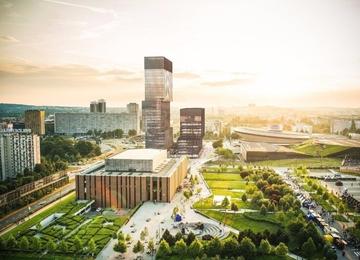 KTW office buildings will appear near Spodek in Katowice
