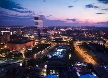 New office tower in Katowice