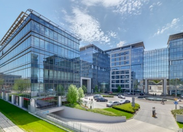 Marynarska Business Park with the BREEAM certificate