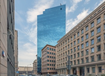 Moniuszki Tower office building with BREEAM certificate