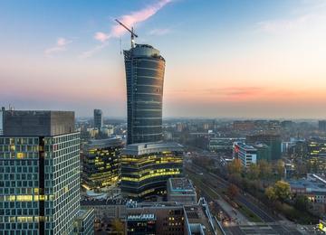 Refinancing of Warsaw Spire