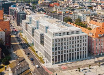 New office block in Wrocław