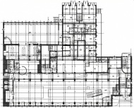 Typical floorplan in building Opolska 22