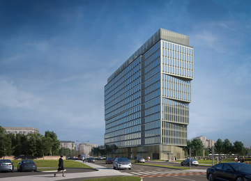 P180 office facility will be build in the Mokotów district