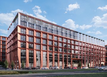 Construction of the next stages of Palio Office Park