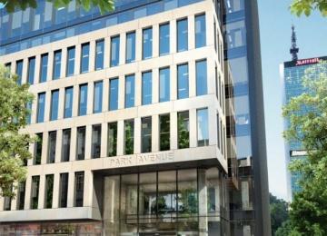 The new office building on Wspólna Street
