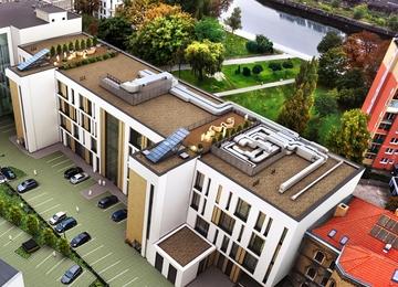 Pomerania Office Park under construction