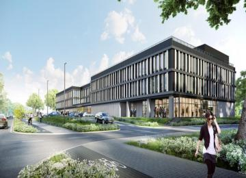 New office complex in Wilanów