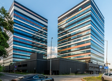 Silesia Business Park B with occupancy permit