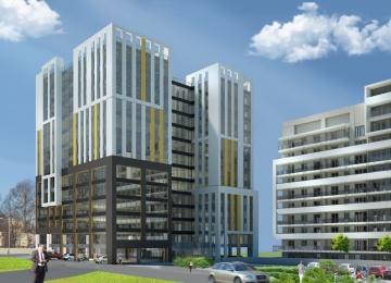 Building occupancy permit for SkyRes Warszawska