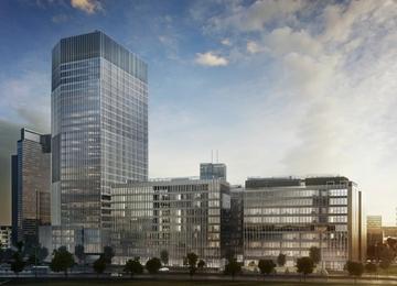 Building works on Serek Wolski - Spark rises