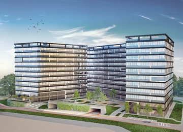 Tertium Business Park in the last stage of implementation