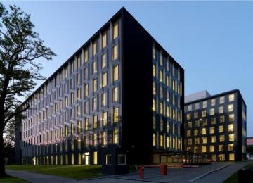 The next office building opened in Łódź