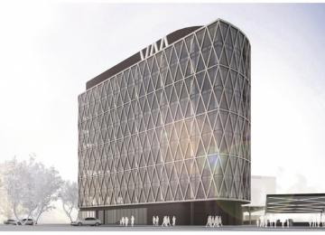Next construction step of Villa Metro