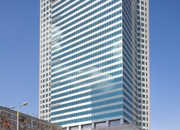 Warsaw Financial Center with LEED Certificate