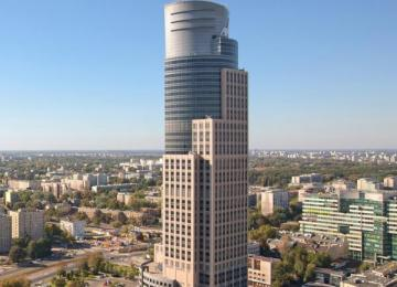 Axa stays in Warsaw Trade Tower