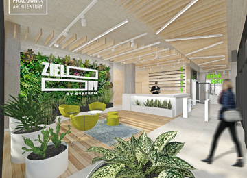 Zielony by Synergia – the first organic office building in Poland