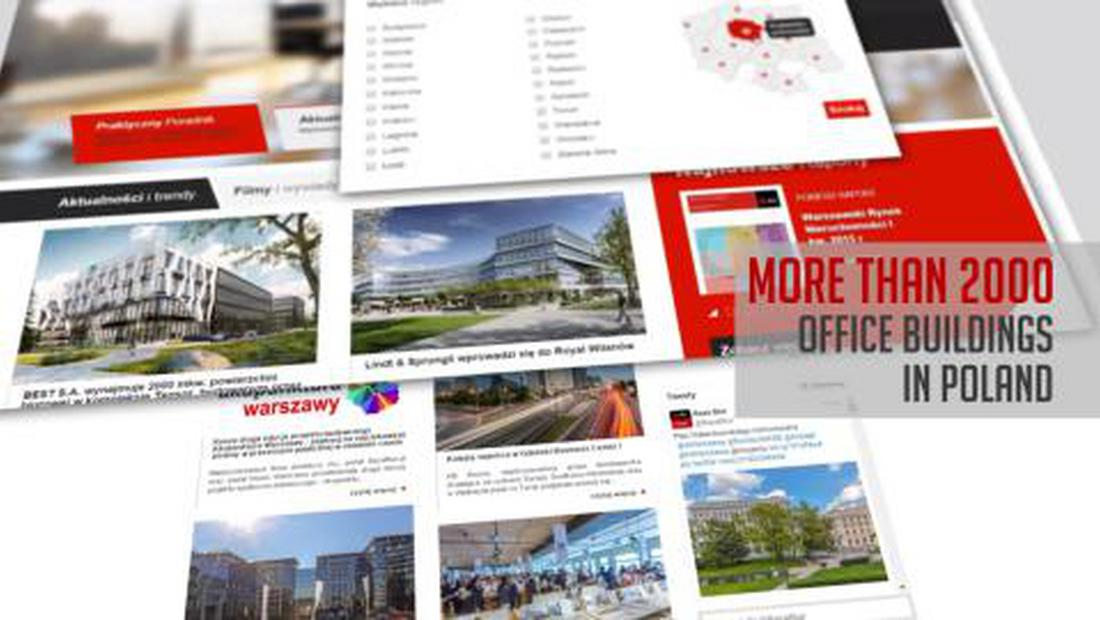 JLL presents OfficeFinder.pl portal