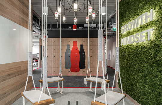 New Coca Cola office marks a new era of growth