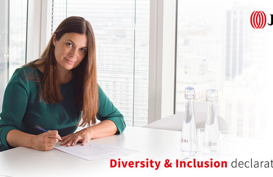 JLL signed ABSL Poland diversity & inclusion declaration