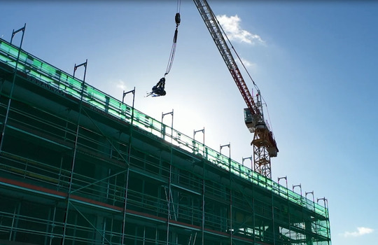 Topping out Ceremony on Alpha
