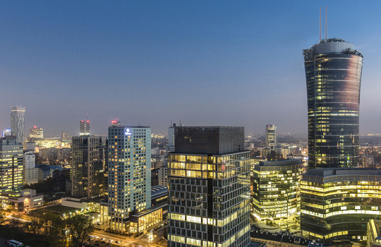 Office market in Warsaw now exceeds 6 million sqm