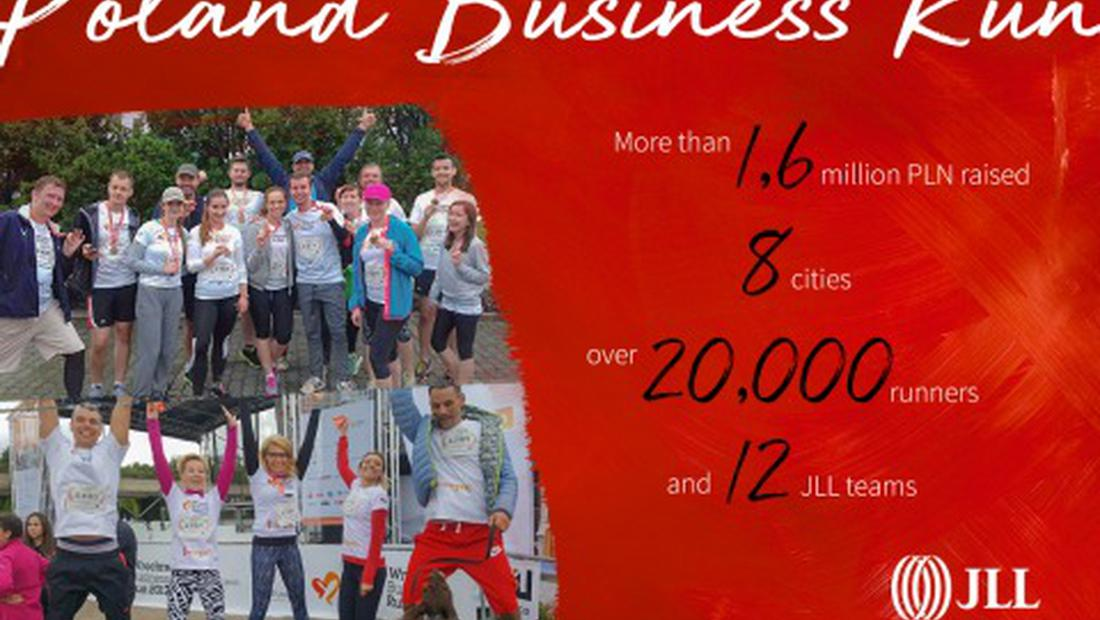 Poland Business Run – charity and completion combined