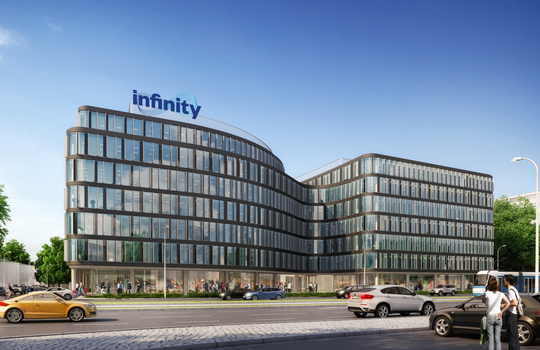 JLL selected as the exclusive agent for Infinity in Wrocław