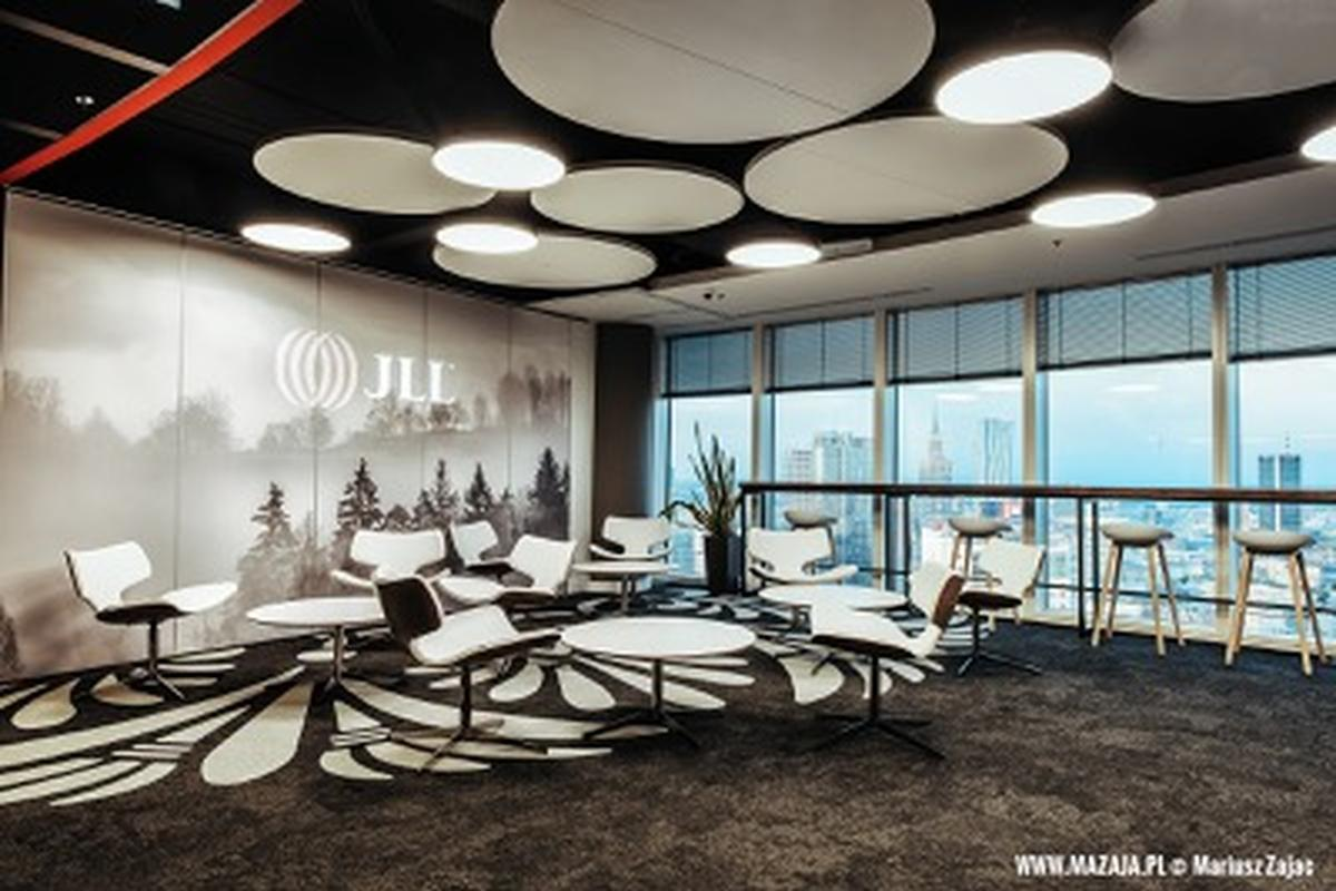 JLL office in Warsaw Spire