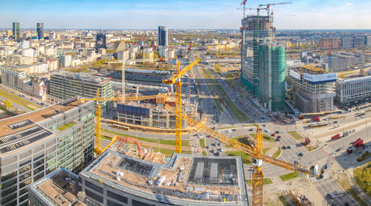 Office market in Warsaw April 2019